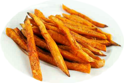 Spiced-Up Sweet Potato Fries
