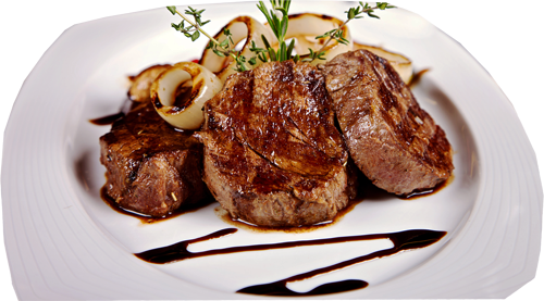 Beef Tenderloin with Chocolate Sauce