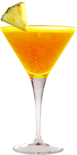 Pineapple Balsamic Vinegar Martini