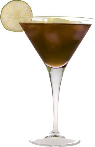 Chocolate Balsamic Martini
