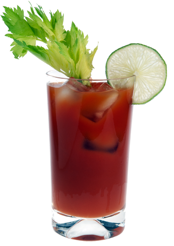 Balsamic Blood Mary