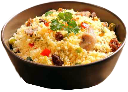 Wild Forest Mushroom Couscous