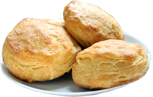 Smokey Onion Biscuit Squares